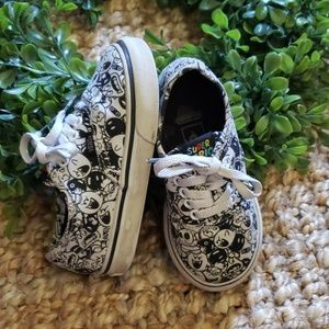 Vans Super Mario Toddler Canvas Shoes